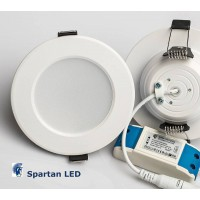 630 lumen 7-watt LED downlight, (fits 80 - 88 mm hole)