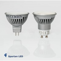 550 lumen 7.5-watt LED halogen replacement bulbs (choose GU10 or mr16) *cool white*