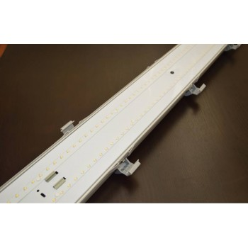 40 watt Exterior LED Batten Light, EMERGENCY BACKUP, 1200mm