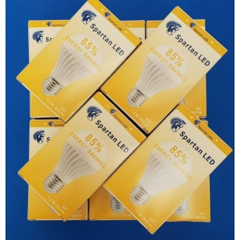 Bulk Package!  10 A60 LED Bulbs Comfort White 3500k Screw Fitting