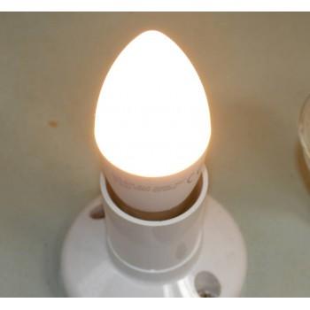 396 lumen, 5-watt LED candle bulb