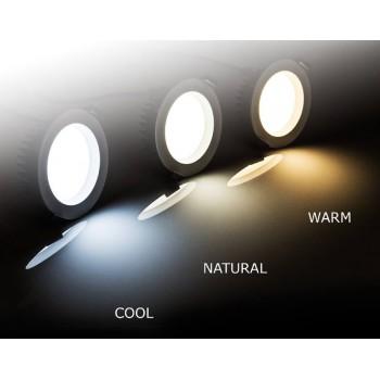 1150 lumen 13-watt LED downlight, dimmable (fits 92-100 mm cut-out)
