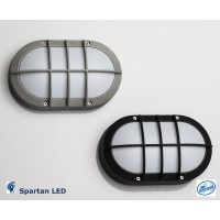 700 lumen, 10 watt LED Bulkhead light