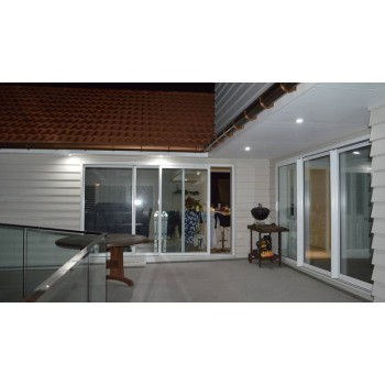 300 lumen, 3 watt LED DOWNLIGHT, satin white (65-95 mm hole cut-out)