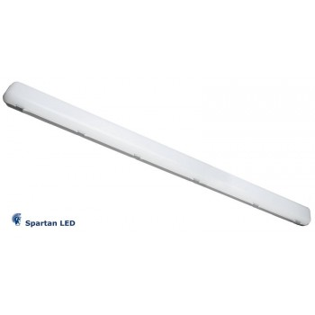 4 PACK - 60 watt LED Batten Lights EMERGENCY BACK UP 1600mm